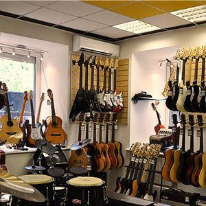 Музыкальные магазины Полтавки